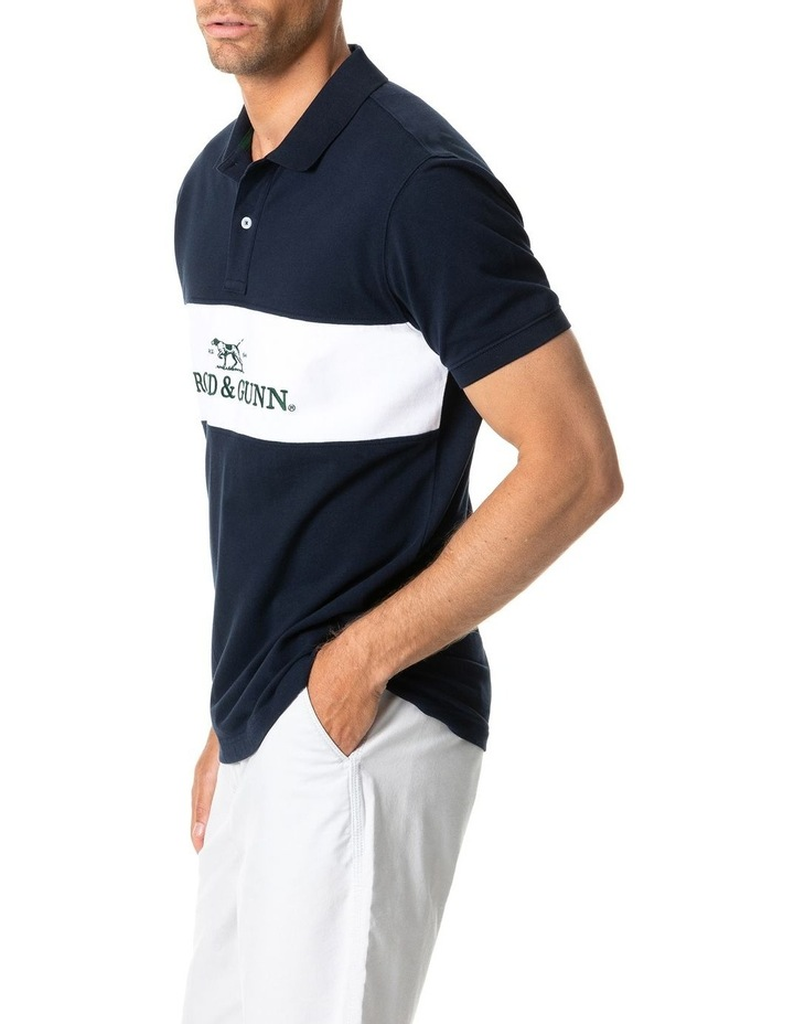 Ealing Sports Fit Polo - True Navy image 2