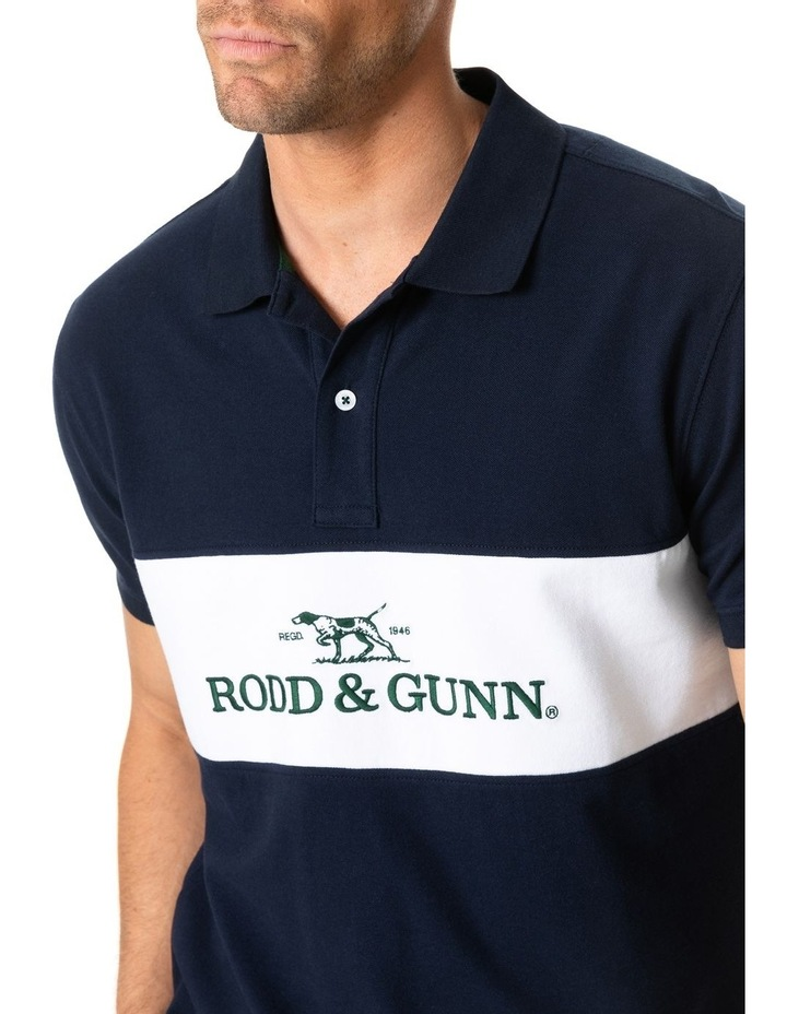 Ealing Sports Fit Polo - True Navy image 4