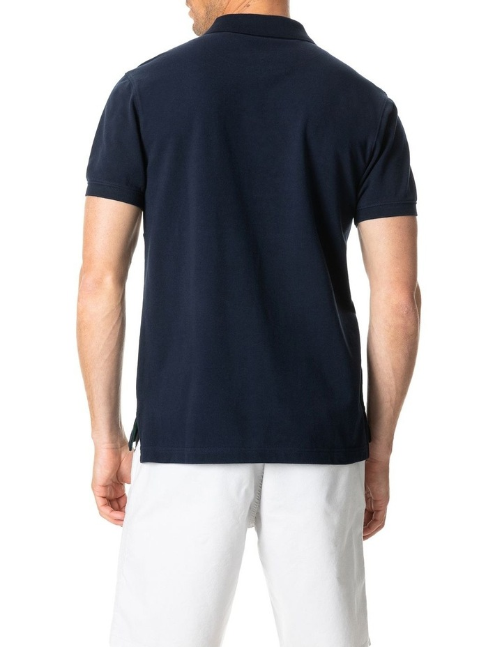 Ealing Sports Fit Polo - True Navy image 5