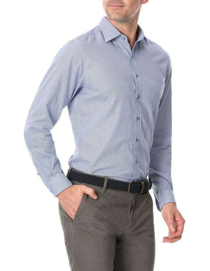 Livingstone Long Sleeve Sports Fit Shirt - River image 2