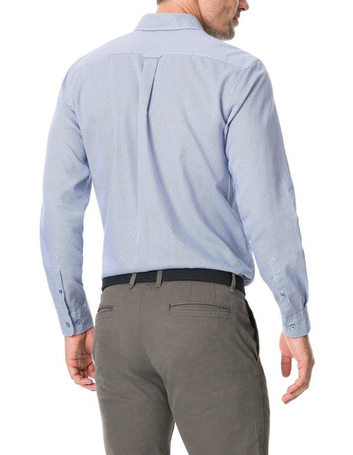 Livingstone Long Sleeve Sports Fit Shirt - River image 3