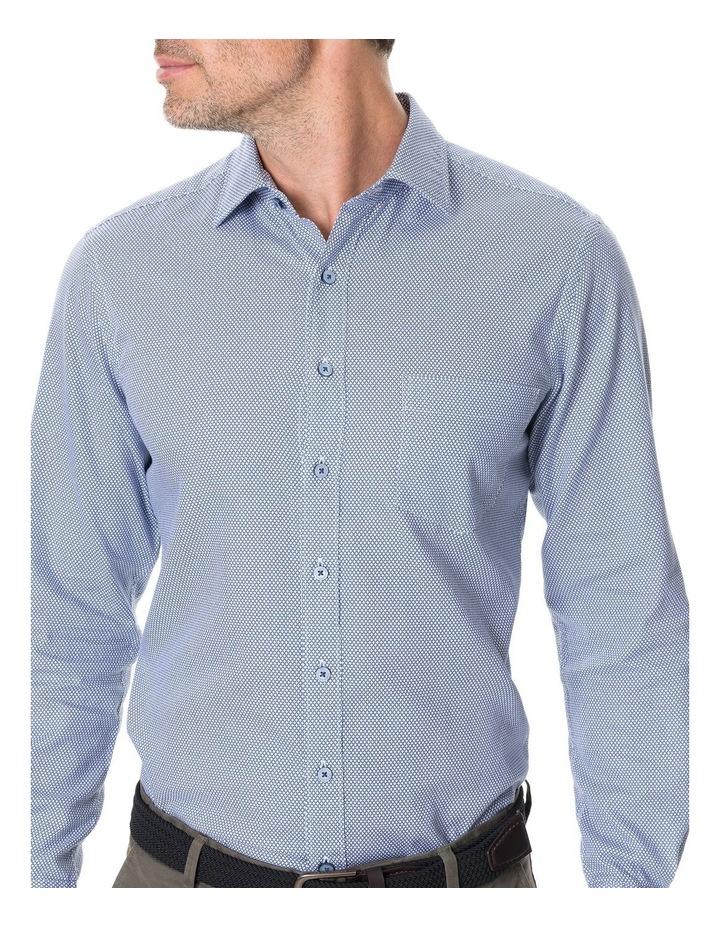 Livingstone Long Sleeve Sports Fit Shirt - River image 4