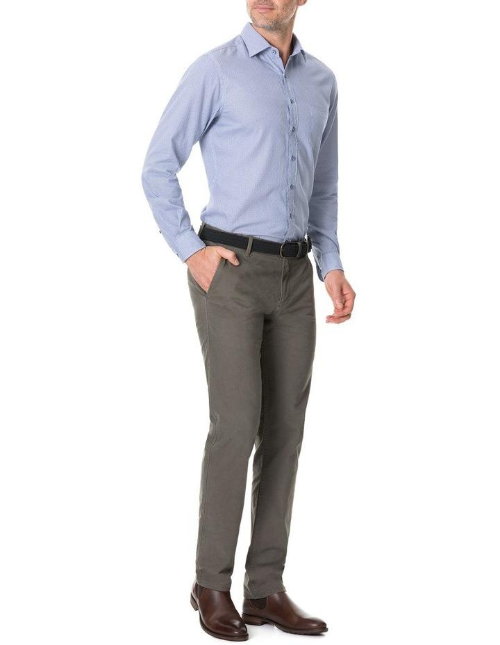 Livingstone Long Sleeve Sports Fit Shirt - River image 5