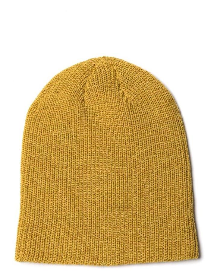 Big Hill Rd Beanie - Mustard image 2