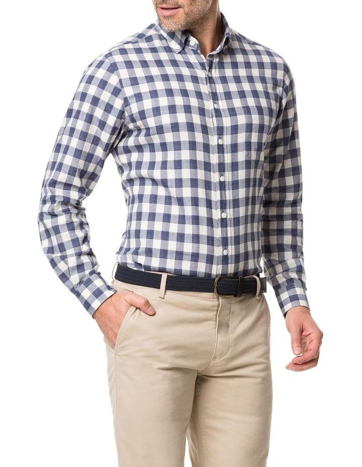 Rodd & Gunn Barryville Long Sleeve Sports Fit Shirt - River image 2