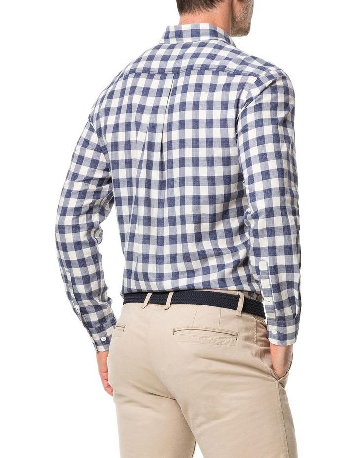 Rodd & Gunn Barryville Long Sleeve Sports Fit Shirt - River image 3