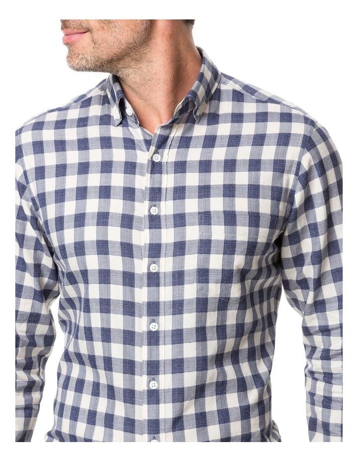 Rodd & Gunn Barryville Long Sleeve Sports Fit Shirt - River image 4