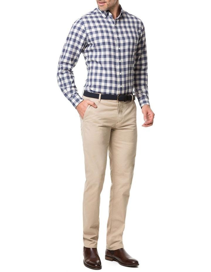 Rodd & Gunn Barryville Long Sleeve Sports Fit Shirt - River image 5