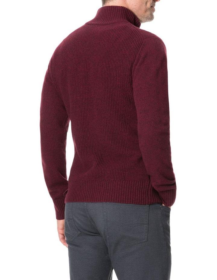 Charlestown Knit - Merlot image 5