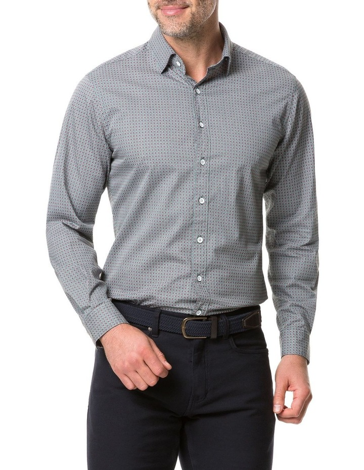 Rodd & Gunn Donnelly Track Long Sleeve Sports Fit Shirt - Thyme image 1