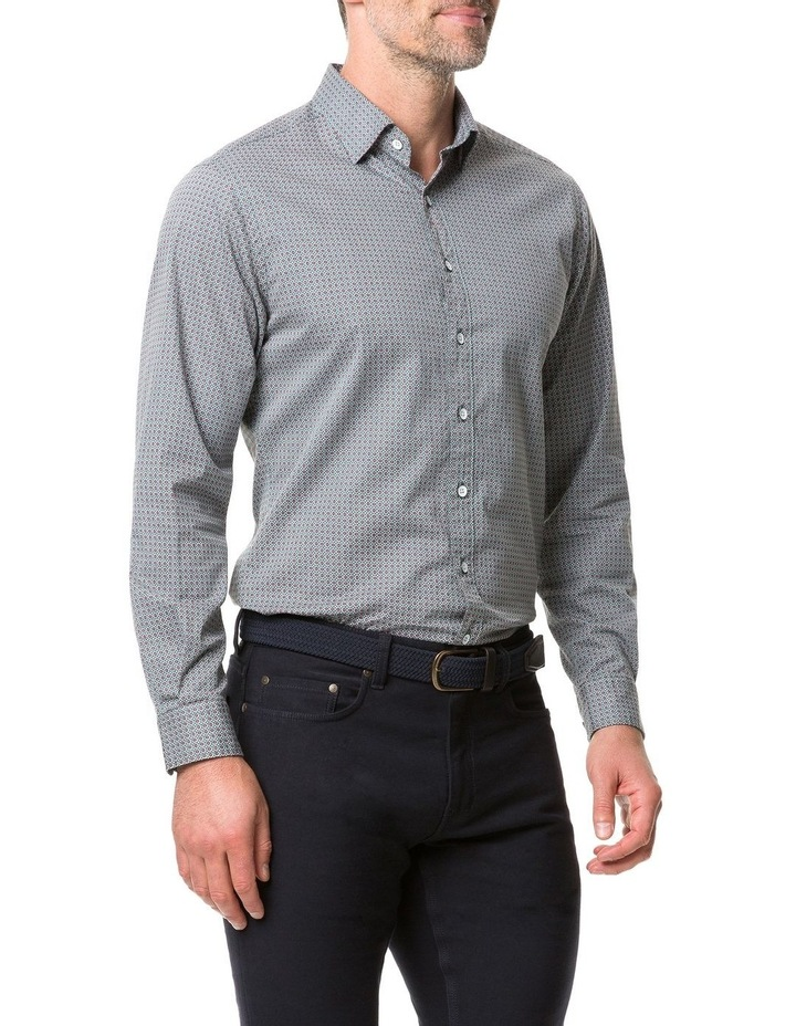 Rodd & Gunn Donnelly Track Long Sleeve Sports Fit Shirt - Thyme image 2