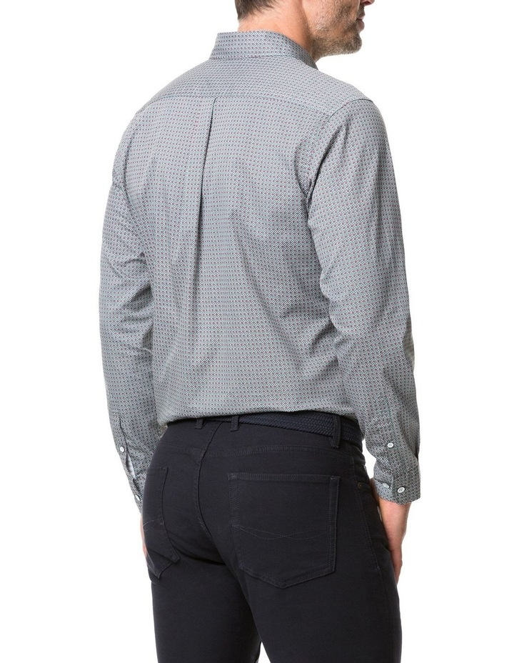 Rodd & Gunn Donnelly Track Long Sleeve Sports Fit Shirt - Thyme image 3