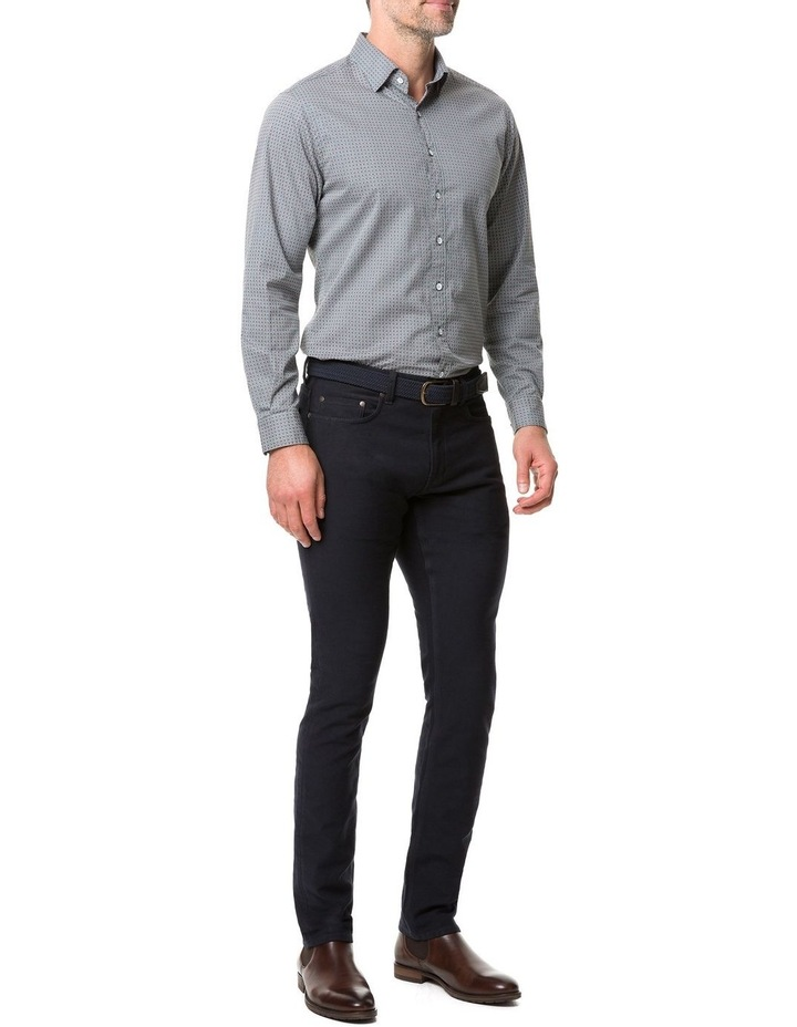 Rodd & Gunn Donnelly Track Long Sleeve Sports Fit Shirt - Thyme image 5