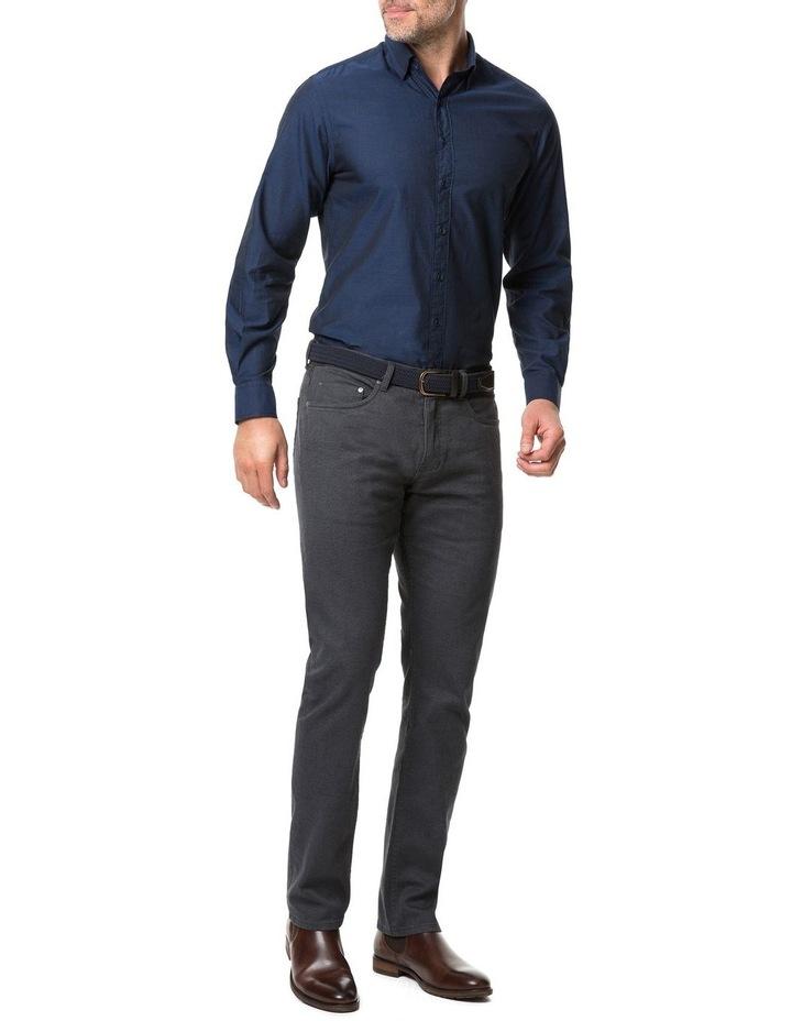 Rodd & Gunn Glenpark Long Sleeve Sports Fit Shirt - Midnight image 5