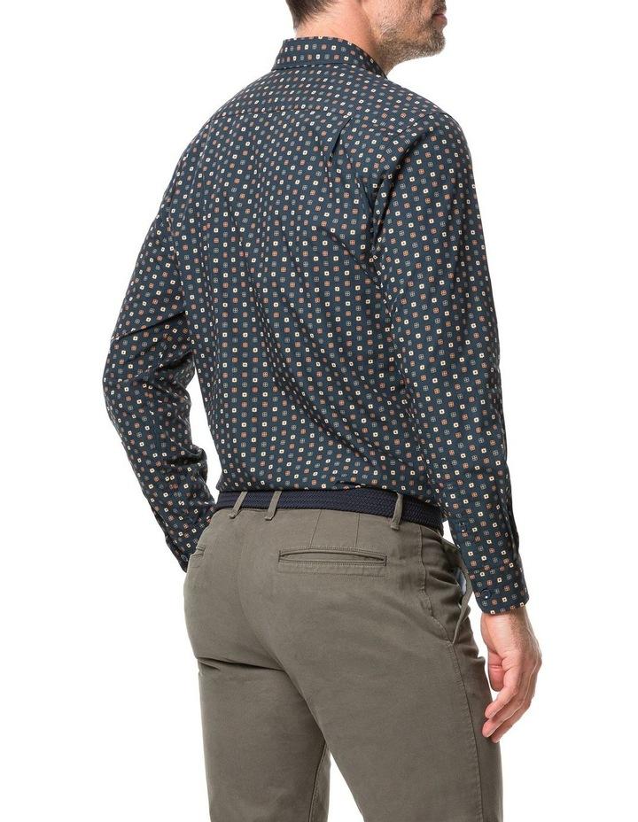 Rodd & Gunn Freyberg Long Sleeve Sports Fit Shirt - Navy image 3