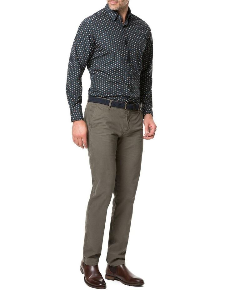 Rodd & Gunn Freyberg Long Sleeve Sports Fit Shirt - Navy image 5