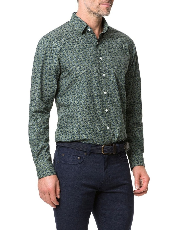 Rodd & Gunn Tennyson Inlet Long Sleeve Shirt - Khaki image 2
