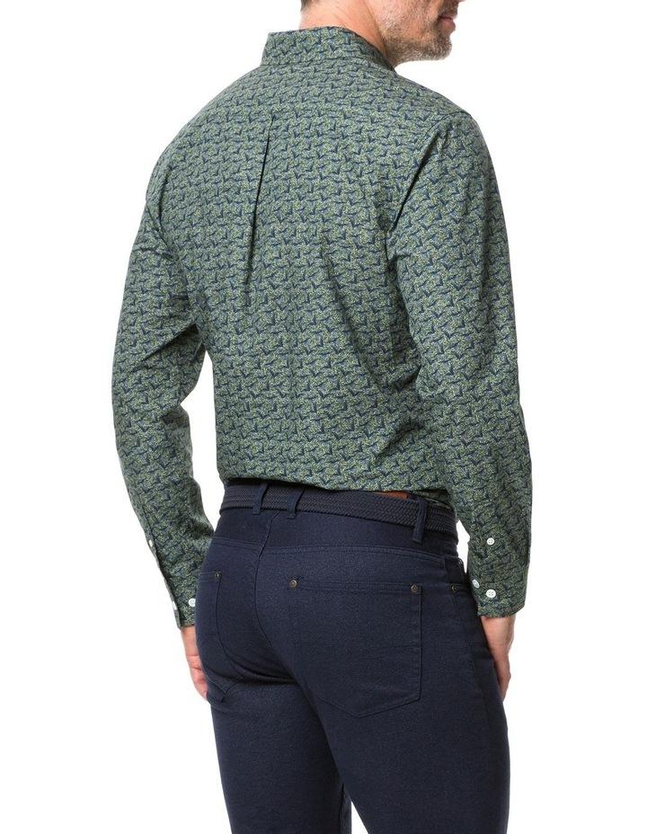 Rodd & Gunn Tennyson Inlet Long Sleeve Shirt - Khaki image 3