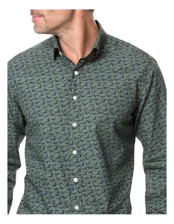 Rodd & Gunn Tennyson Inlet Long Sleeve Shirt - Khaki image 4