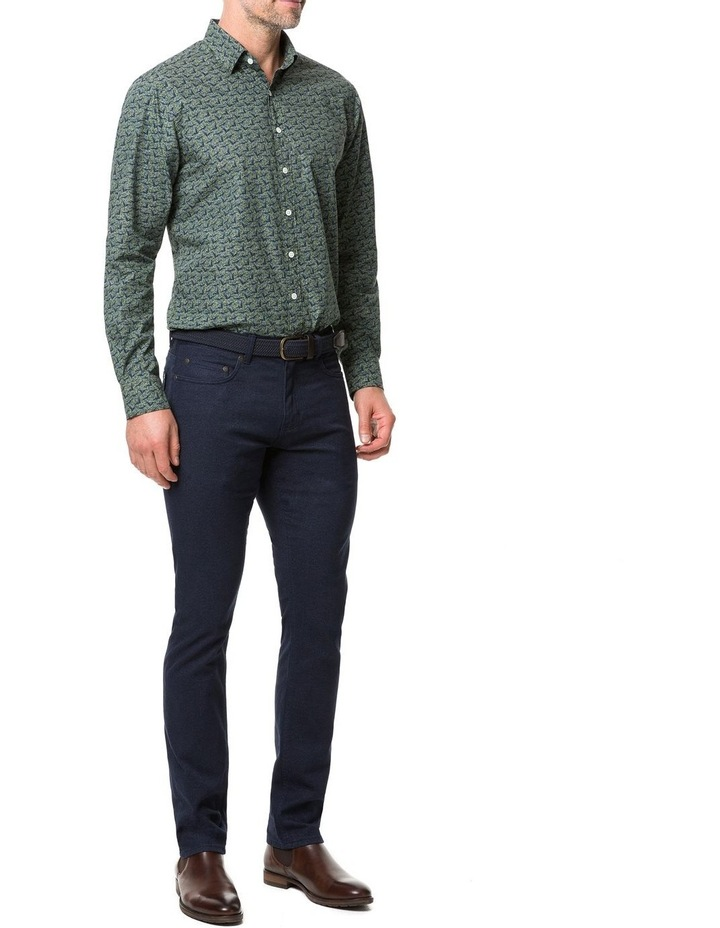 Rodd & Gunn Tennyson Inlet Long Sleeve Shirt - Khaki image 5