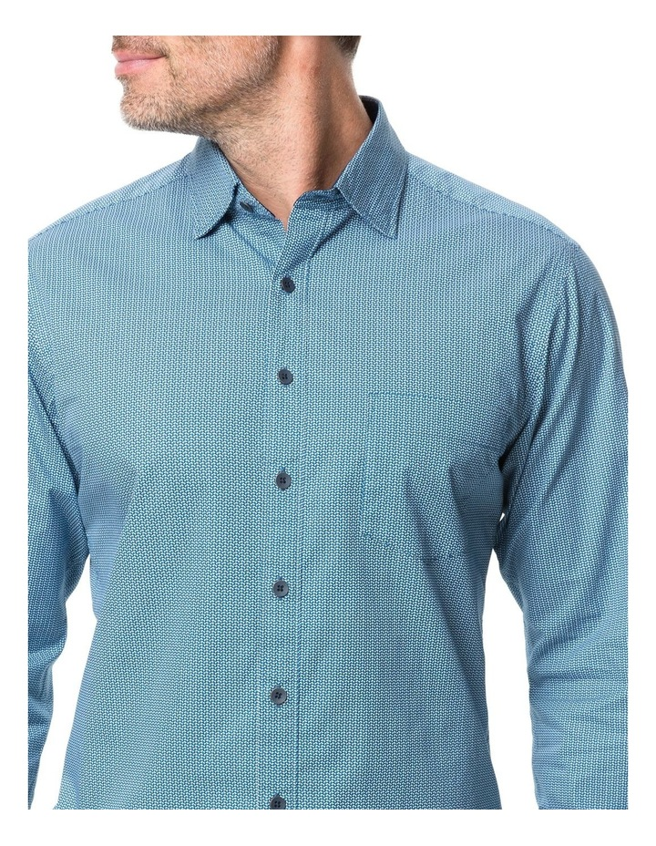 Rodd & Gunn Terraces Long Sleeve Sports Fit Shirt - Lagoon image 4