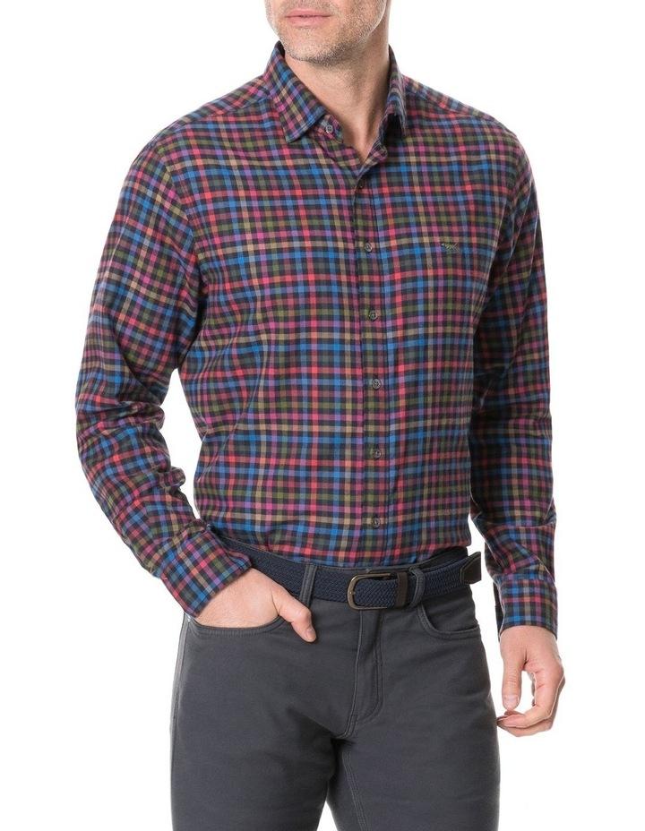 Evansdale Long Sleeve Shirt - Nero image 1