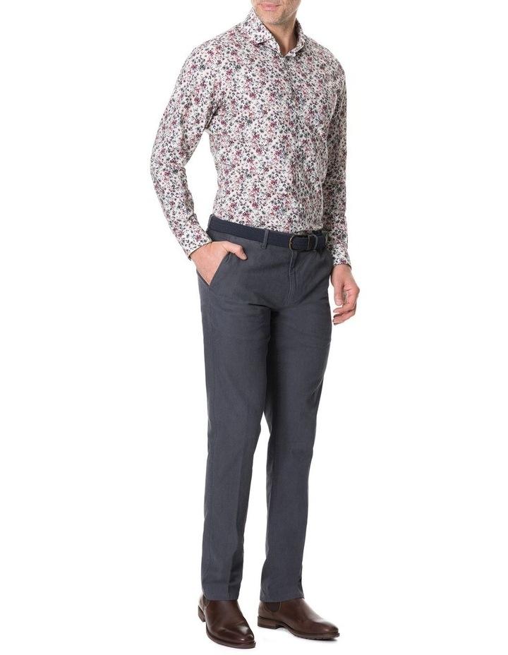 Allenton Long Sleeve Sports Fit Shirt - Ivory image 3