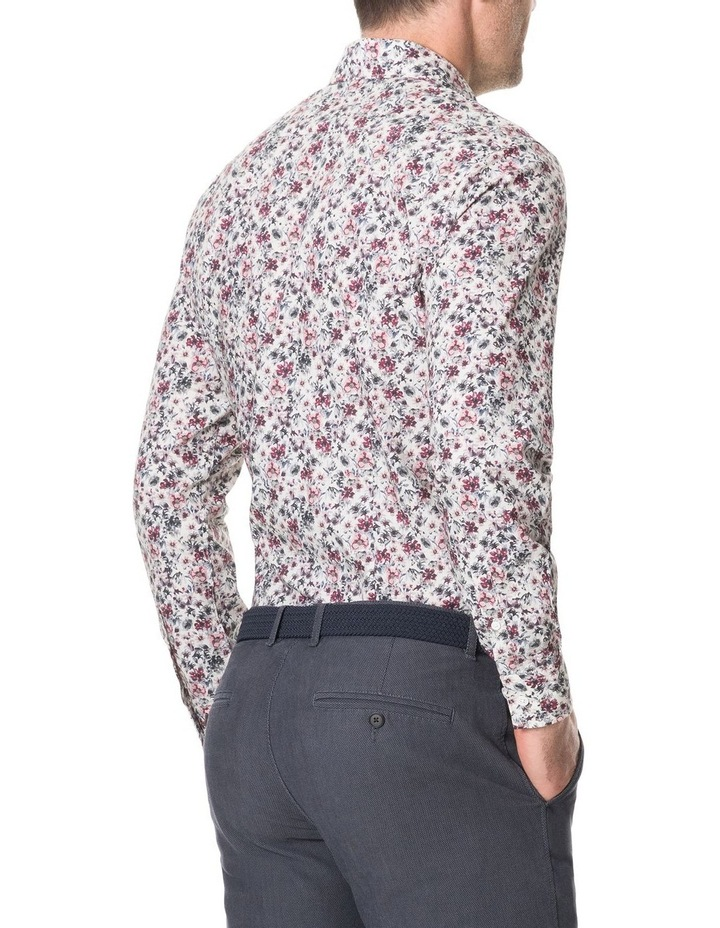 Allenton Long Sleeve Sports Fit Shirt - Ivory image 5