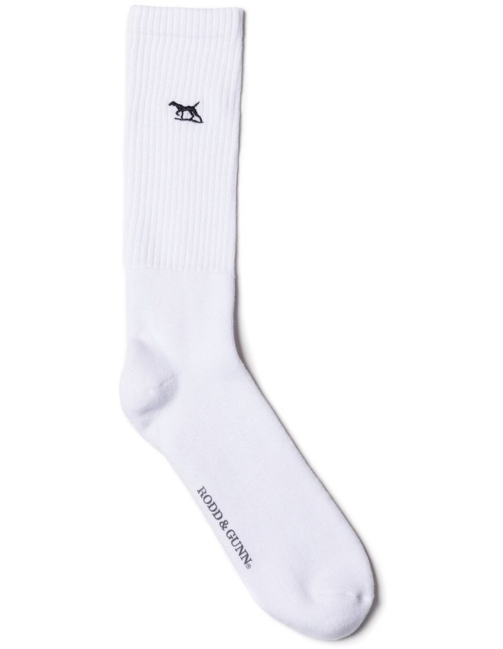 Gunner Three Pack Sock - Snow image 2