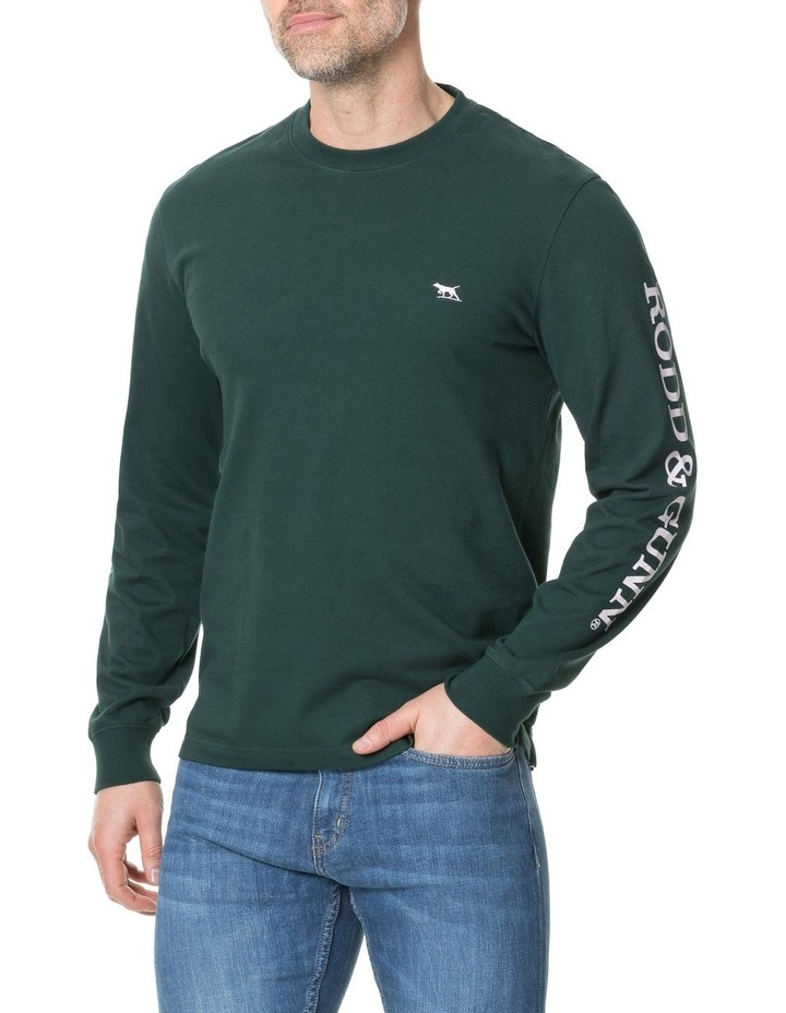 Manor Park Long Sleeve Tee - Forest image 1