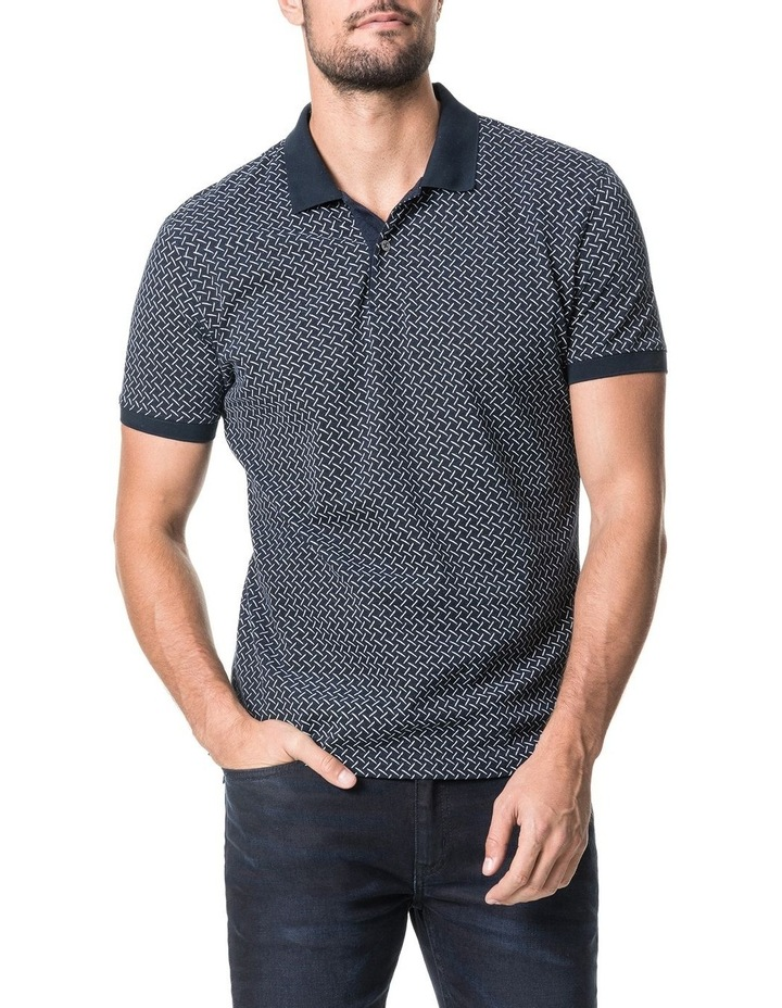 Brookdale Sports Fit Polo - Ink image 1