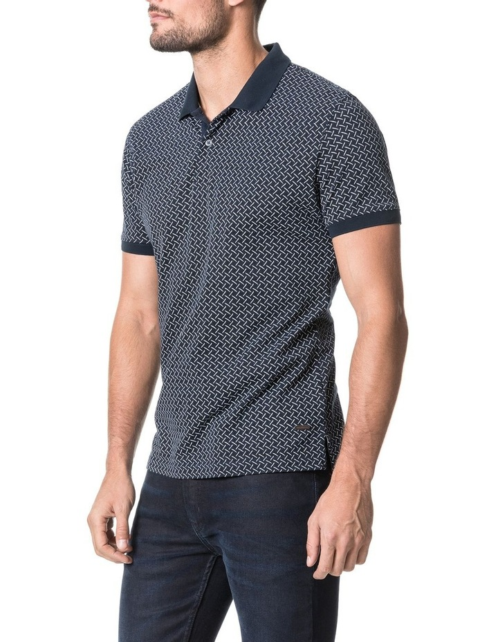 Brookdale Sports Fit Polo - Ink image 2
