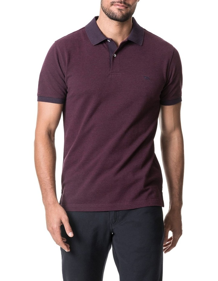 New Haven Sports Fit Polo - Magenta image 1