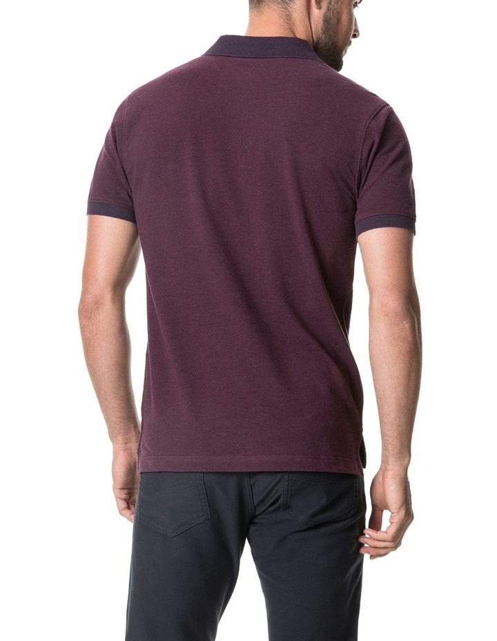 New Haven Sports Fit Polo - Magenta image 3