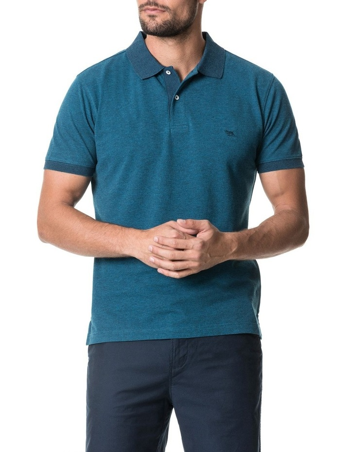 New Haven Sports Fit Polo - Teal image 1