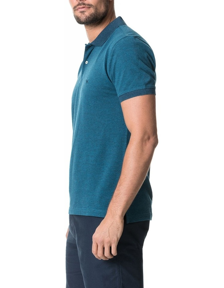 New Haven Sports Fit Polo - Teal image 2