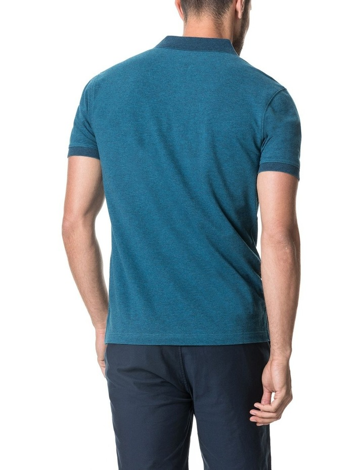 New Haven Sports Fit Polo - Teal image 3