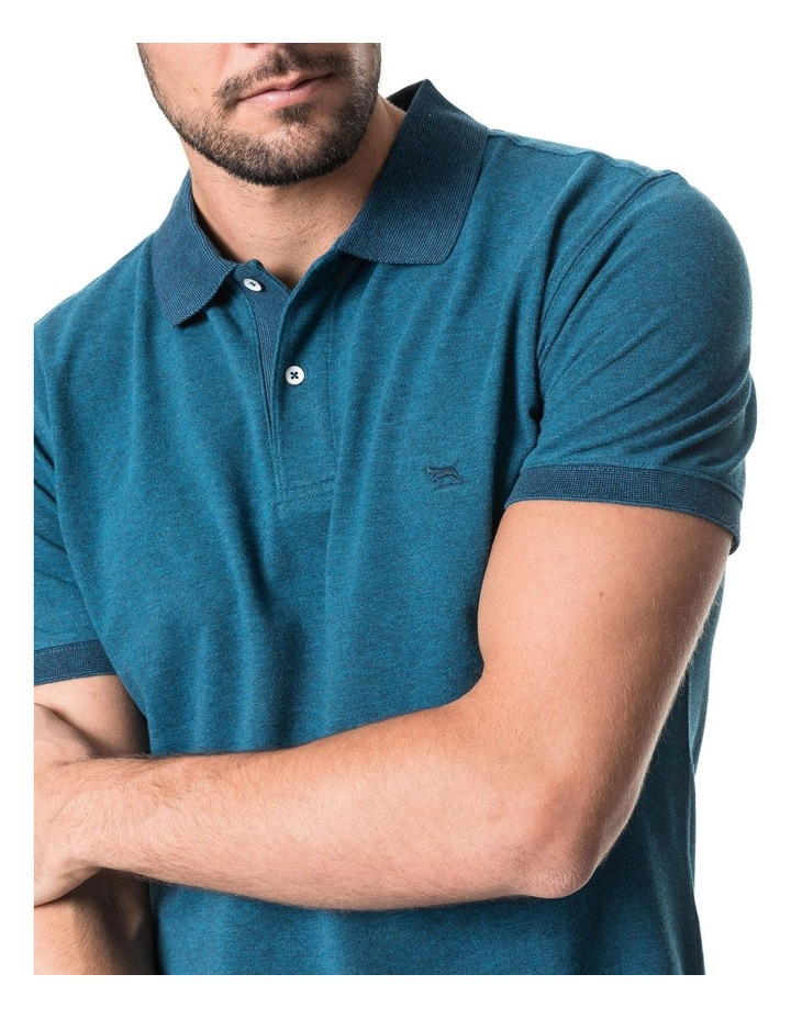 New Haven Sports Fit Polo - Teal image 4
