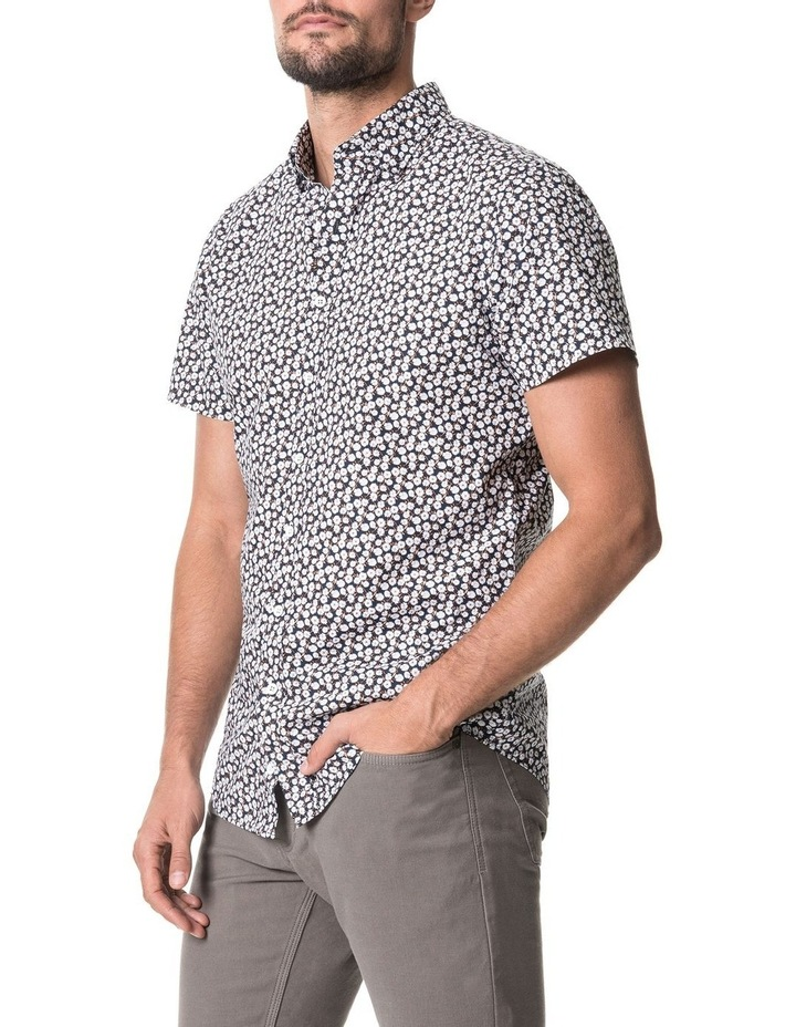 Forest Hill Short Sleeve Sports Fit Shirt - Midnight image 2