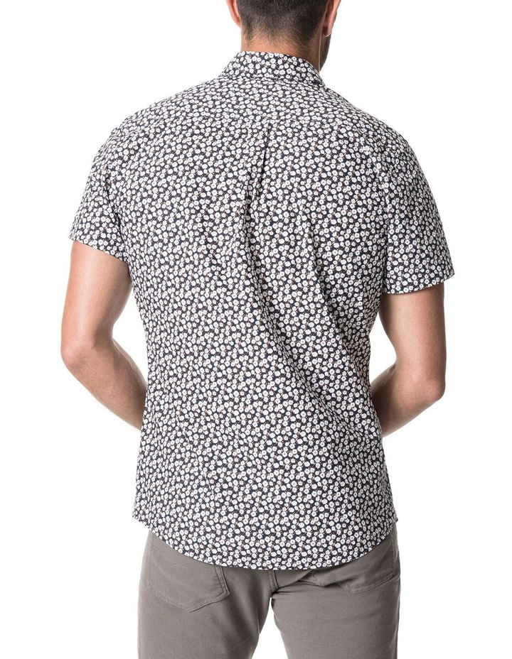 Forest Hill Short Sleeve Sports Fit Shirt - Midnight image 3