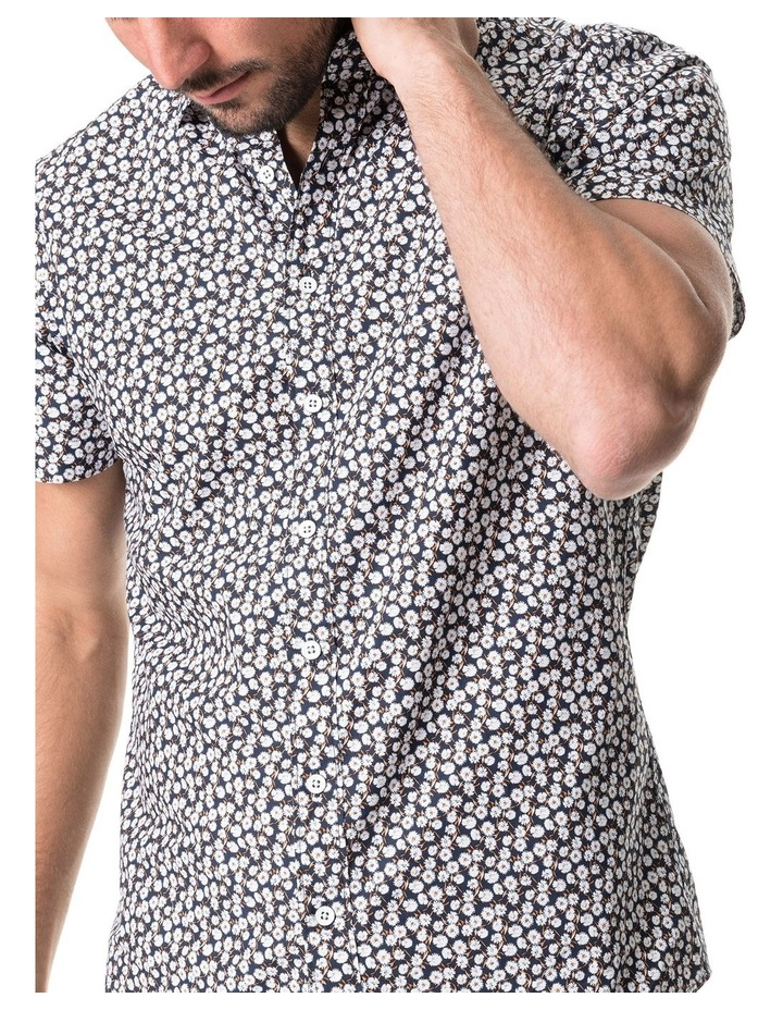 Forest Hill Short Sleeve Sports Fit Shirt - Midnight image 4