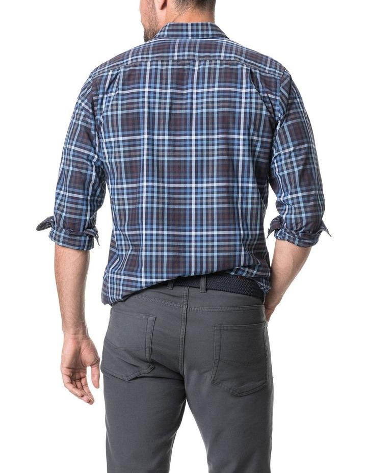 Cherokee Long Sleeve Sports Fit Shirt - Denim image 3