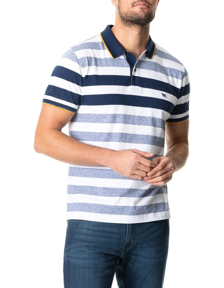 Coppermine Bay Sports Fit Polo Ocean image 1