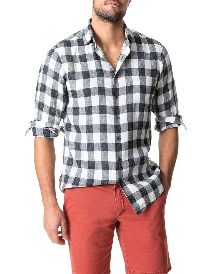 City Block Long Sleeve Sports Fit Shirt image 1