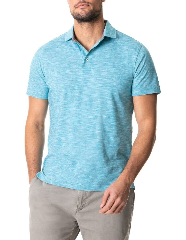 Ascot Park Sports Fit Polo Jade image 1