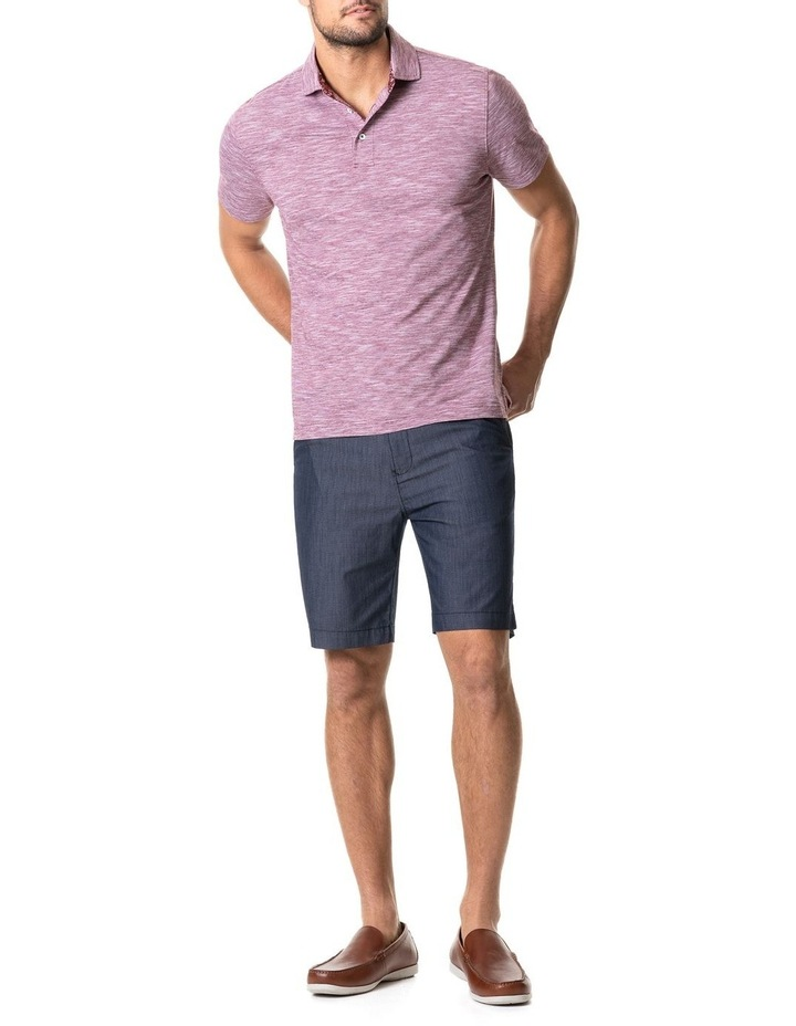 Ascot Park Sports Fit Polo Burgundy image 5