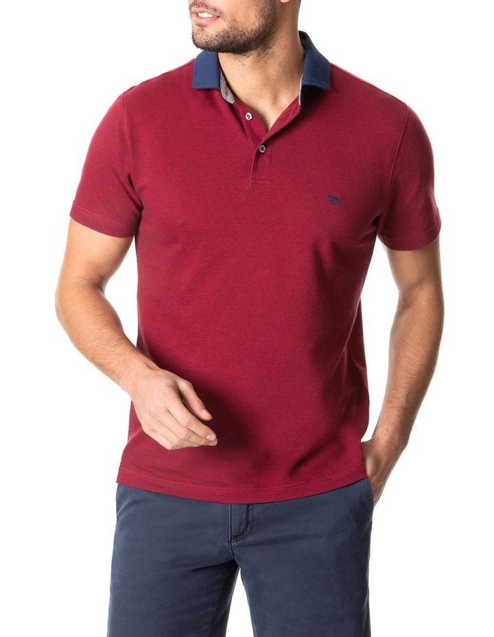 Inlet Sports Fit Polo Crimson image 1