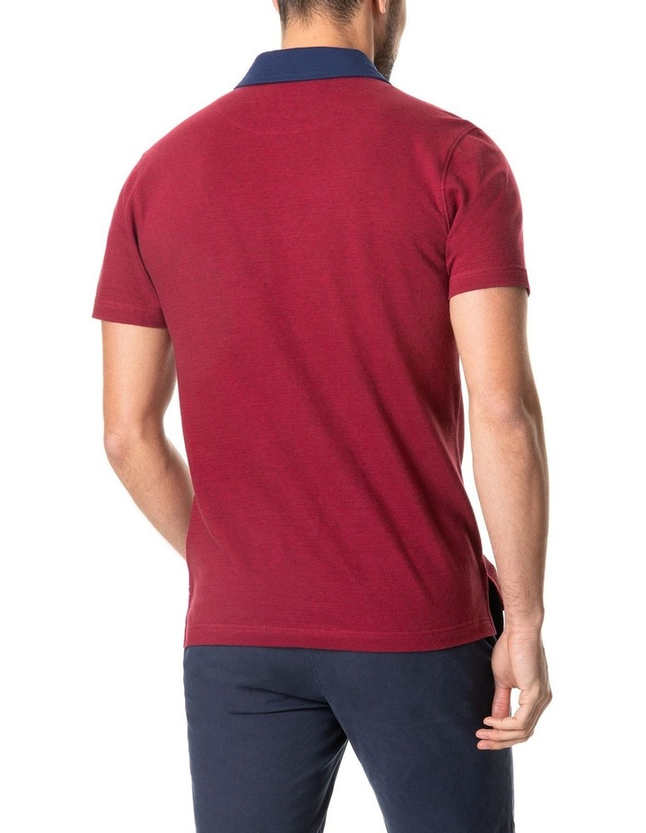 Inlet Sports Fit Polo Crimson image 3