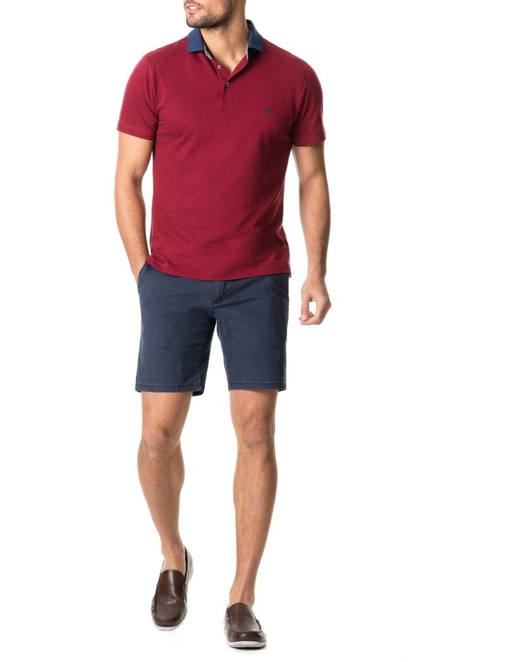 Inlet Sports Fit Polo Crimson image 5