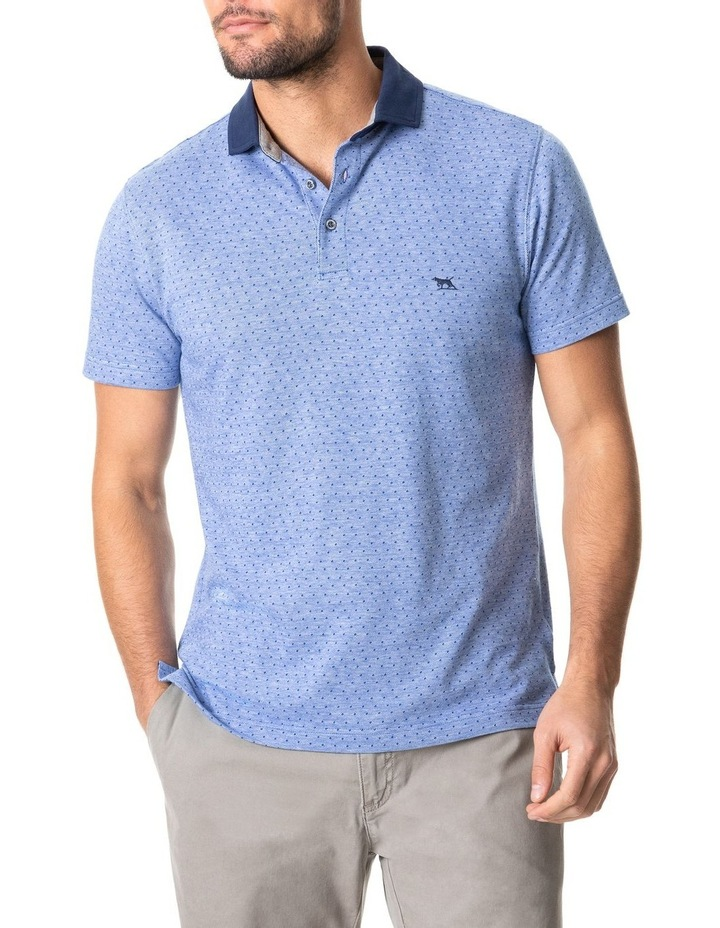 Inlet Sports Fit Polo Sea image 1